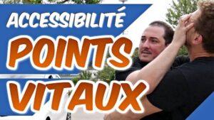 Les POINTS VITAUX accessibles en COMBAT DE RUE [Self défense]