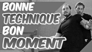 La BONNE TECHNIQUE au BON MOMENT en SELF DÉFENSE