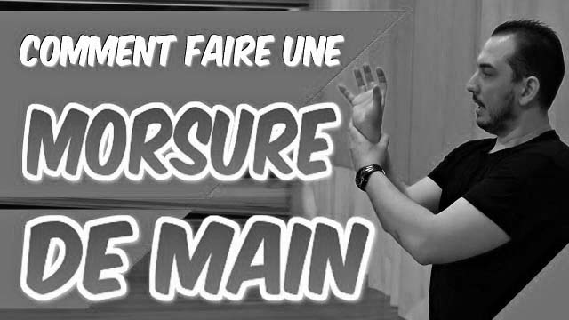 Comment faire une MORSURE DE MAIN en SELF DÉFENSE